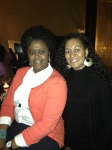 My BFF's Linesister and my natural hair friend!